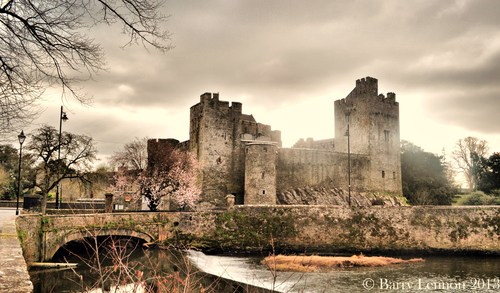 Cahir Castle, Co. Tipperary, Ireland.