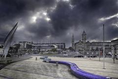 An overcast Sunday in February 2013