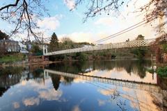 Dalys bridge (known locally as de shakey bridge) spans the river lee an is a well known cork landmark
