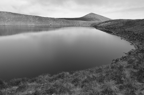 Lake Muskry is located in the Galtee Mountains, Tipperary, Ireland