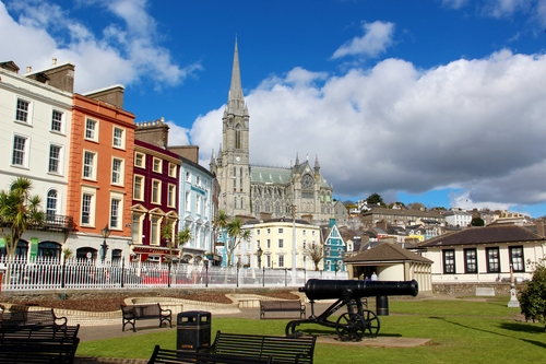 The town of Cobh, Co. Cork