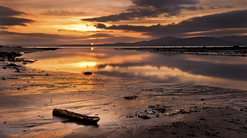 """One the best sunsets i ve seen in a long time, taken last January @""""the stone jug"""" in buncrana..."""