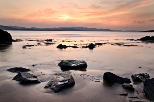 April sunset taken in Buncrana..