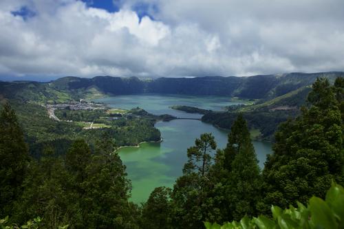 """The Azores Lagoon called  """" Lagoa  das Sete Cidades """""""