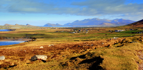 A view on the Dingle Peninsula