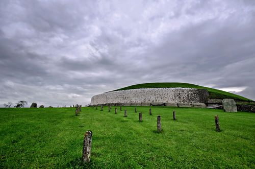 The Passage Tomb at Newgrange, Co. Meath