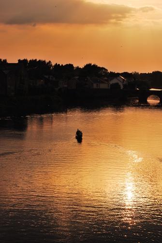 River Suir at dusk