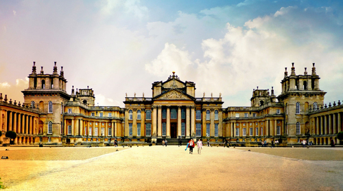 Blenheim Palace' - A photo from Blenheim Palace in Oxfordshire, England