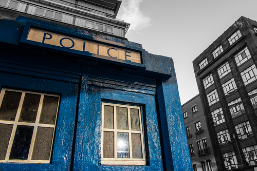 Police Box, East End, Glasgow