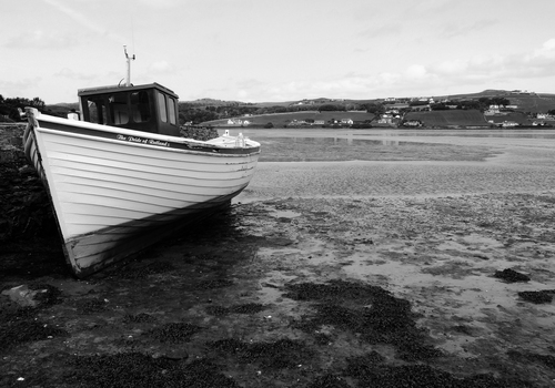 Rutland is a land-locked county in England, so the journey to Dunfanaghy Harbour, County Donegal must have been difficult. Perhaps that is why the vessel needs a rest.