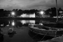 Bantry in Co. Cork. Not too many quieter, more tranquil places there are to be found on a balmy summer night.