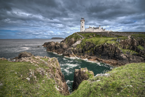 One of the most photographed Lighthouses in Ireland located at Fanad..