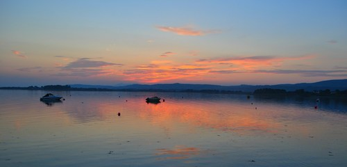 The evening sky taken from Clonea, Dungarvan, Co. Waterford.