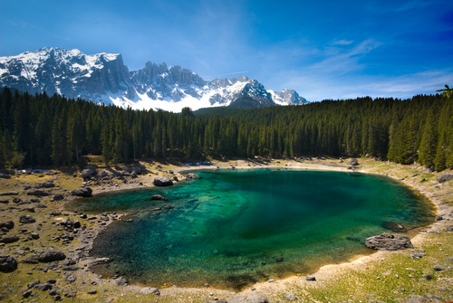 Karersee in the Dolomites