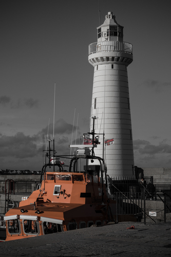 RNLI Boat, Donaghadee Harbour