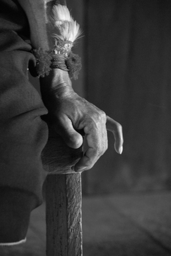 The hand of a Shaman.