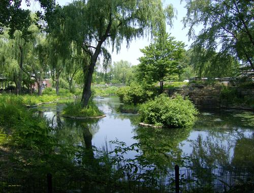 A park on outskirts of Chicago