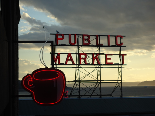 Seattle's Best, Market & Sound.
