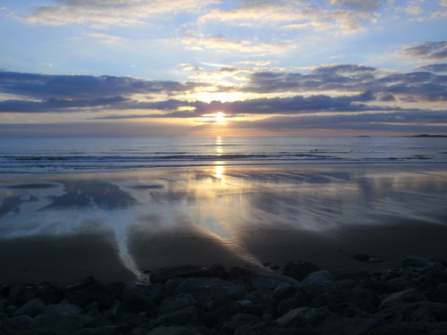 Sunset at Strandhill