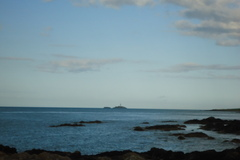 Rockabill Lighthouse from Skerries harbour.