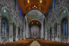 Interior photo of Galway Cathedral