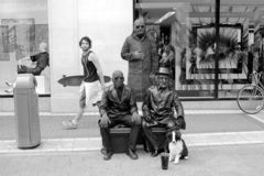 Street perfprmers, Grafton Street, Dublin