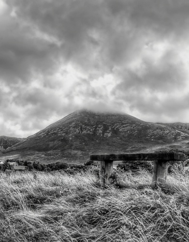A view of Croagh Patrick.