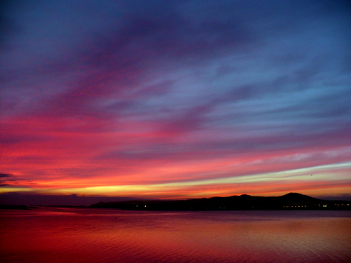 Dawn over Howth Head