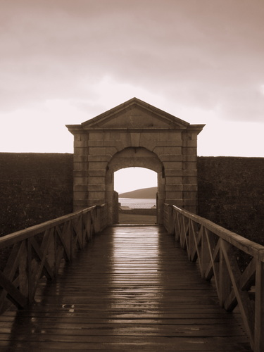 The entrance to Charles' Fort, Kinsale