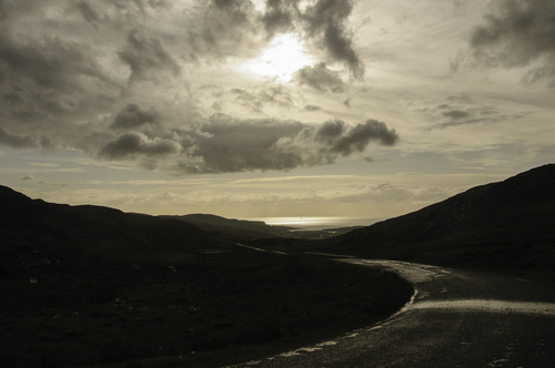Road into Glencolmcille