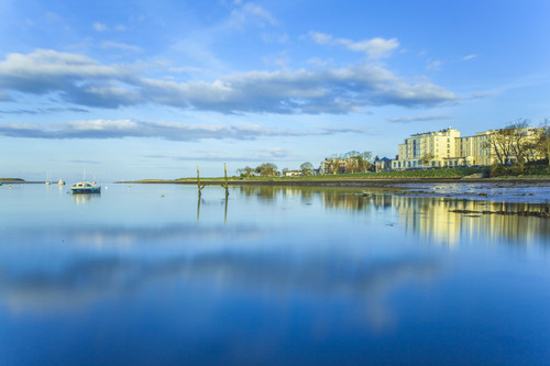 Malahide estuary, Dublin.