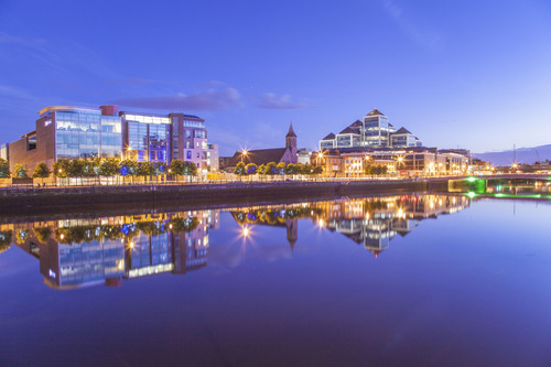 George's Quay Plaza, Docklands, Dublin.