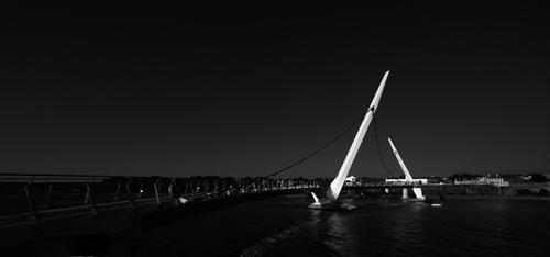 The Peace Bridge, Derry, Northern Ireland.