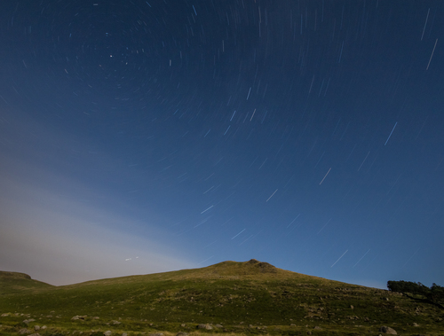 Stars over the Mournes.