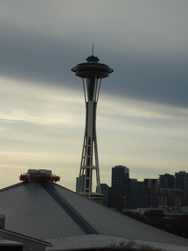 Space Needle & Key Arena