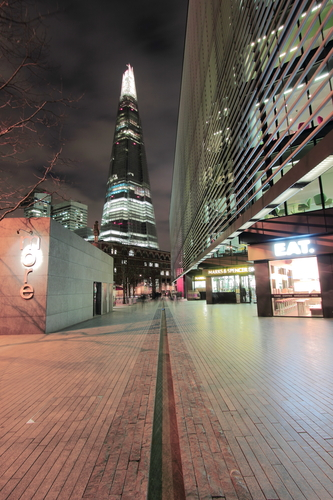 More London and the Shard.