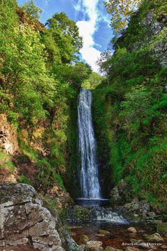Glenevin waterfall, Clonmany.