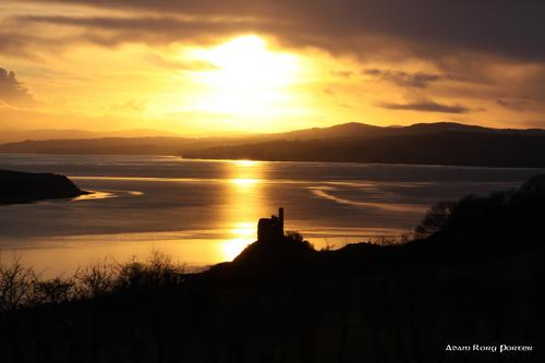 Inch Castle, Inch Island, Inishowen.