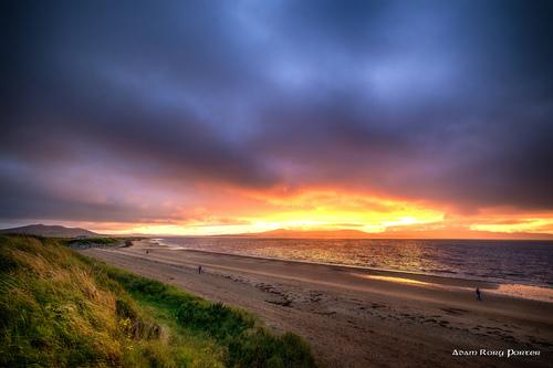 Luddan sunset towards Rathmullan, Inishowen.
