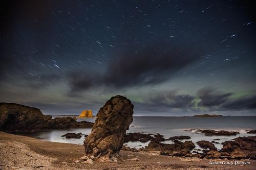 The wee house of Malin Aurora / Northern Lights, Malin Head, Inishowen.