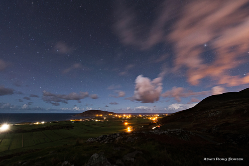 Urris at night, Urris, Inishowen.