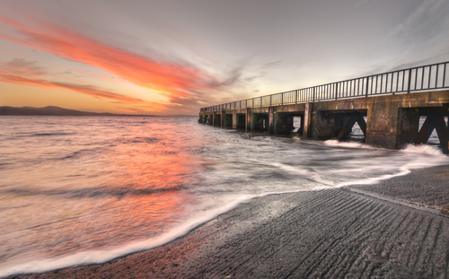 HDR image from Buncrana Pier..