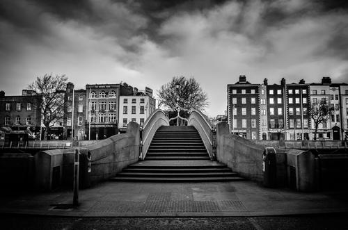 A Deserted Ha'penny Bridge
