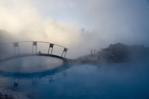 Taken at the Blue Lagoon geothermal spa in Iceland.