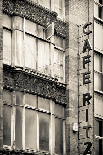Old cafe in Dublin.