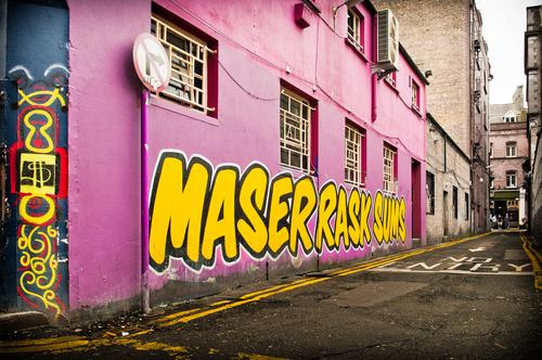 Wall paint of Dublin.
