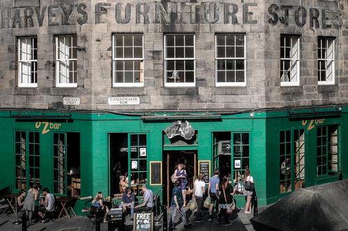 A pub in Candlemaker Row, Edinburgh.