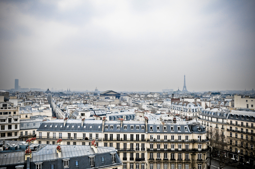 Paris from above...