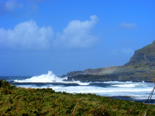 High waves in Glencolmcille Co.Donegal