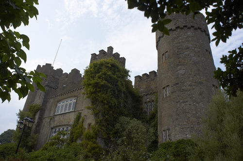 The ancient Malahide Castle, Dublin which is open to the public in summer 2013